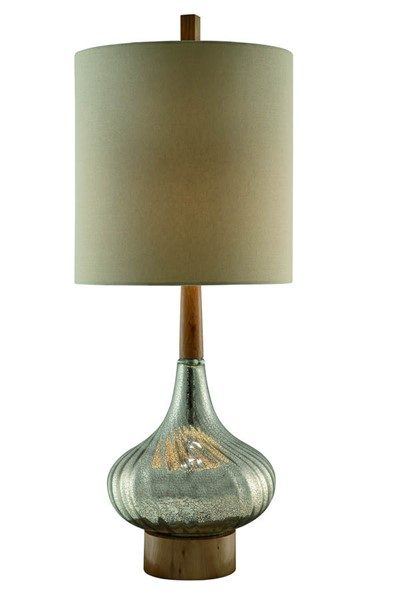 Crestview Collection Flash Back Tan Table Lamp CRST-CVABS679