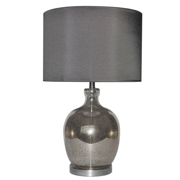 Crestview Collection Lala Antique Grey Table Lamp CRST-CVABS707
