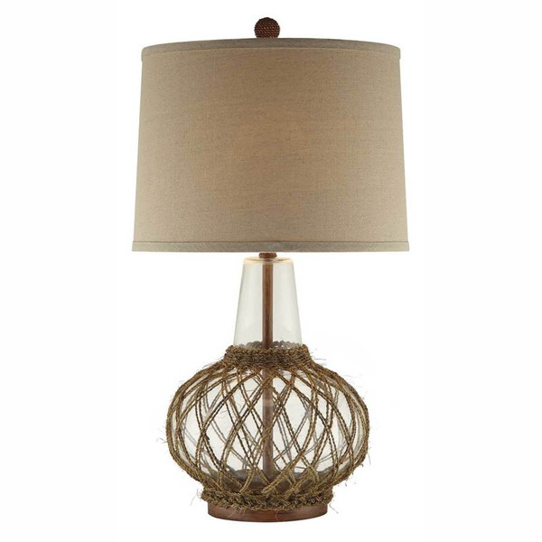 2 Crestview Collection Willow Natural Table Lamps CRST-CVABS774