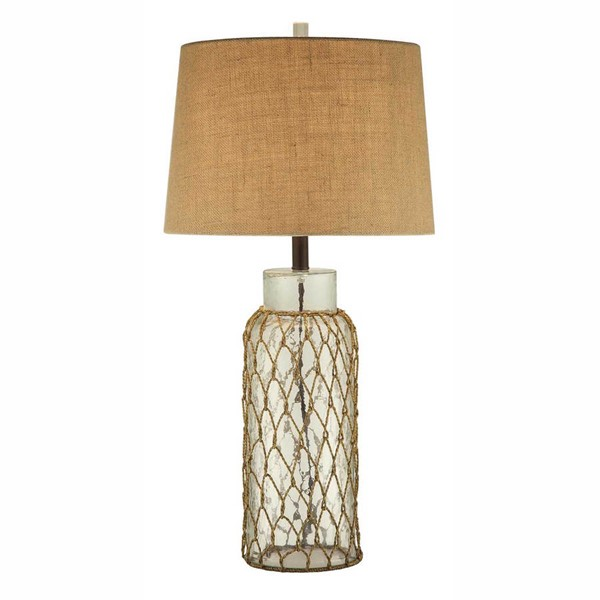 Crestview Collection Meyer Glass Table Lamp CRST-CVABS775