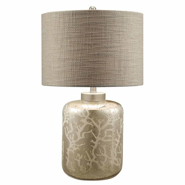 Crestview Collection Coral Mercury Grey Table Lamp CRST-CVABS793