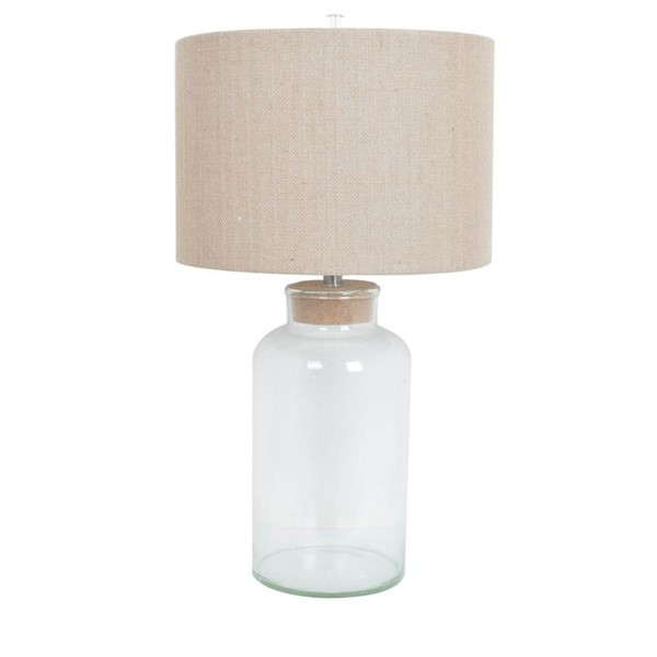 Crestview Collection Clear Table Lamp CRST-CVABS822