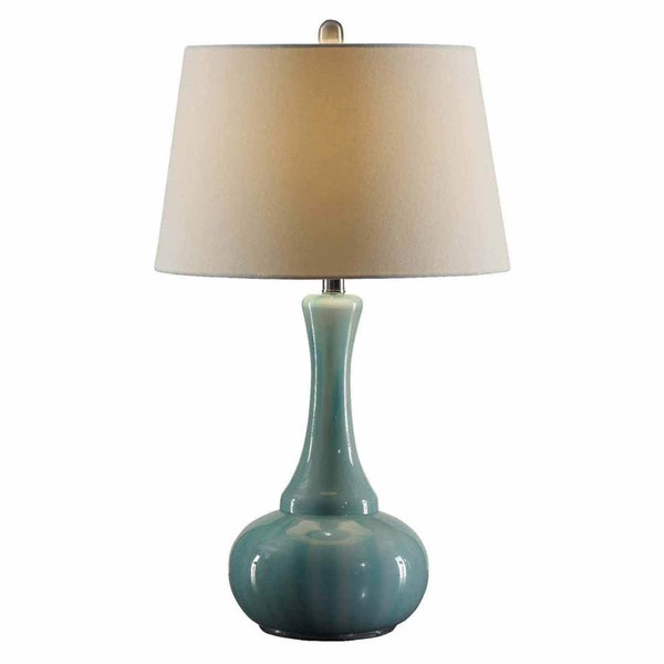 Crestview Collection Alden Blue White Table Lamp CRST-CVABS931