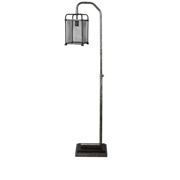 Crestview Collection Metal Pewter Floor Lamp CRST-CVAER1455