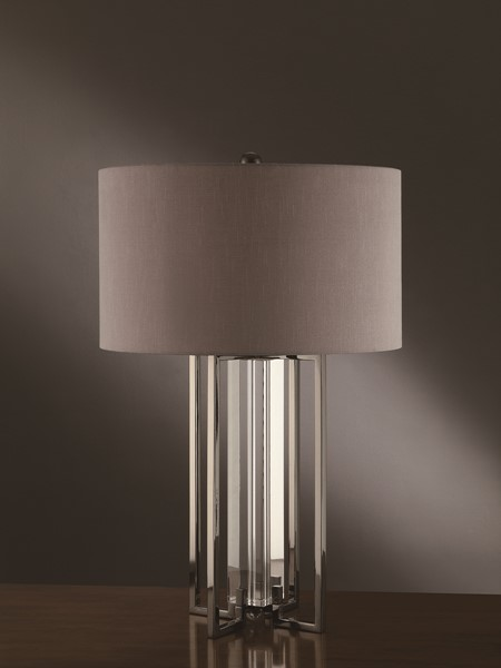Crestview Collection Tensdale Grey Table Lamp CRST-CVAER359
