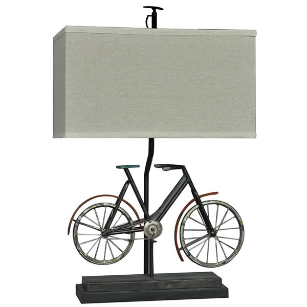 Crestview Collection Biking Natural Table Lamp CRST-CVAER460