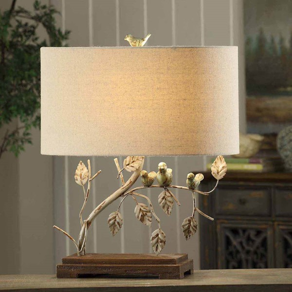 Crestview Collection Ella Antique Table Lamp CRST-CVAER568