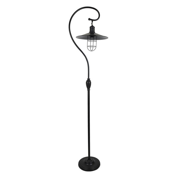 Crestview Collection Harbor Antique Bronze Side Floor Lamp CRST-CVAER677
