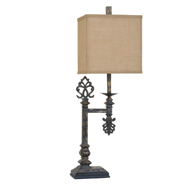 Crestview Collection Castle Gate Antique Table Lamp CRST-CVAER683