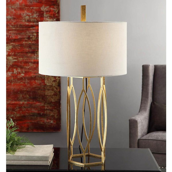Crestview Collection Global Gold Table Lamp CRST-CVAER762