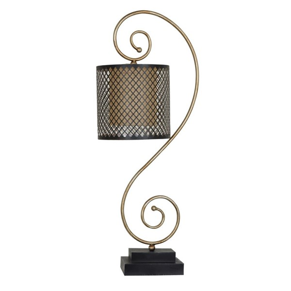 Crestview Collection Sherwin Antique Gold Bronze Table Lamp CRST-CVAER771
