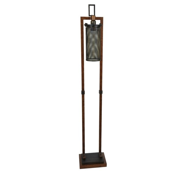 Crestview Collection Gibson Metal Floor Lamp CRST-CVAER779