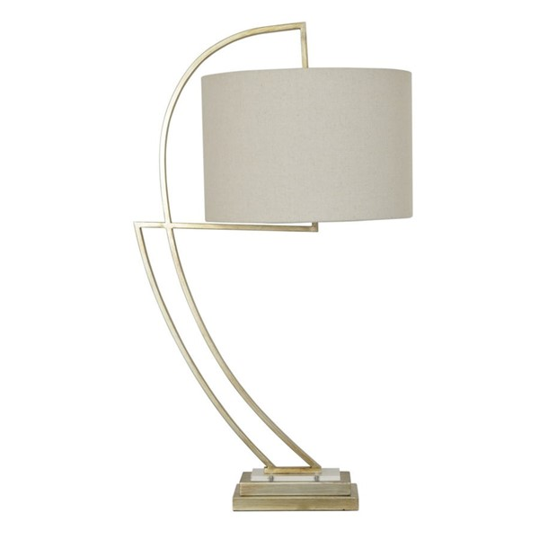 Crestview Collection Norris Natural Silver Table Lamp CRST-CVAER817