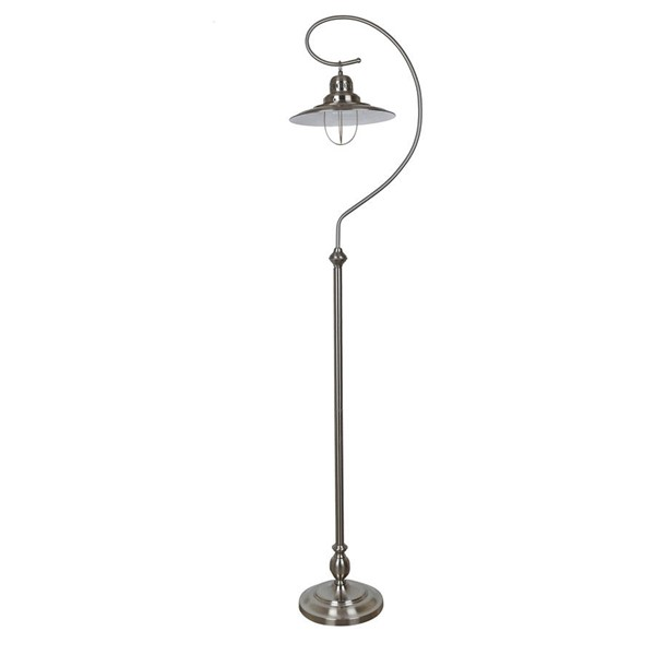 Crestview Collection Somerset Brushed Floor Lamp CRST-CVAER904
