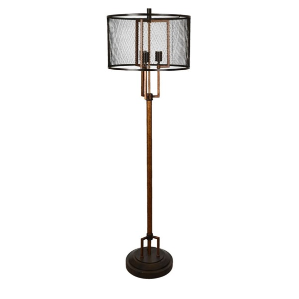 Crestview Collection Winchester Copper Metal Floor Lamp CRST-CVAER936