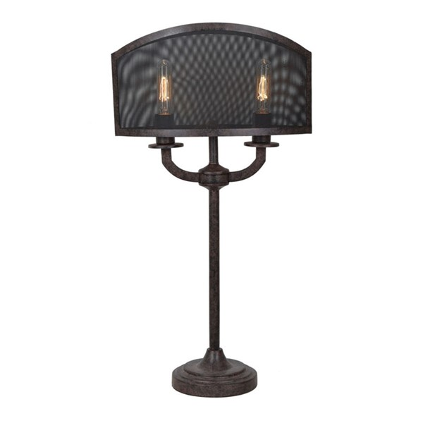 Crestview Collection Brooks Rusted Table Lamp CRST-CVAER949