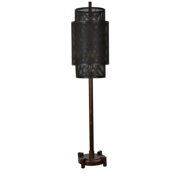 Crestview Collection Fleetwood Bronze Table Lamp CRST-CVAER957