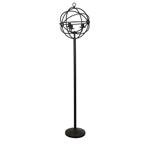 Crestview Collection Global Bronze Floor Lamp CRST-CVAER982