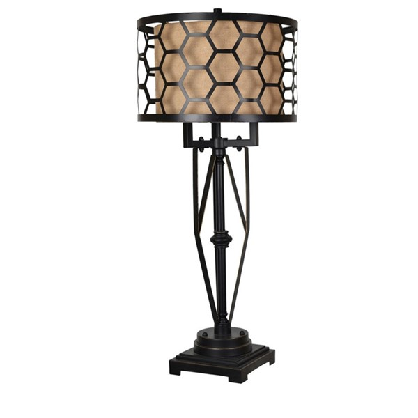 Crestview Collection Flynn Bronze Table Lamp CRST-CVAER985