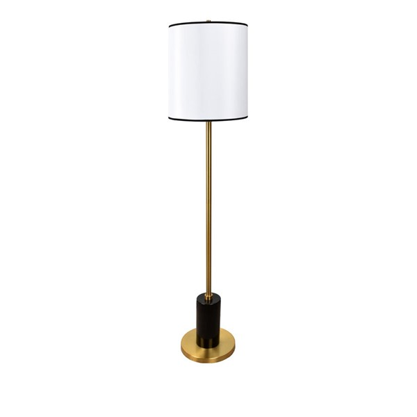 Crestview Collection Molano Black Floor Lamp CRST-CVAMB0042