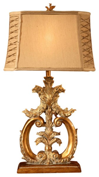 Crestview Collection Aria Shaded Table Lamp CRST-CVANP747
