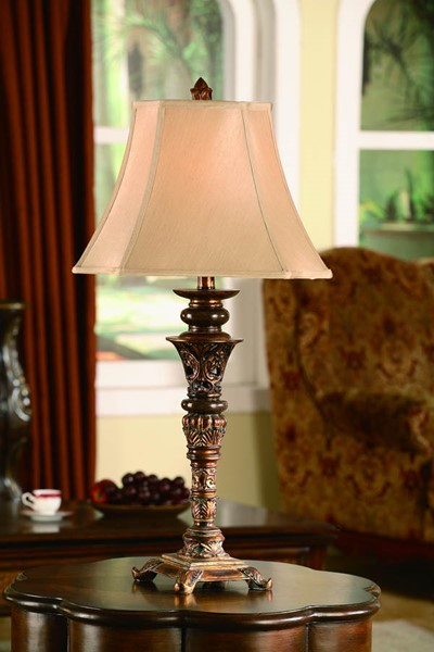 Crestview Collection Tyler Shaded Table Lamp CRST-CVAOP045