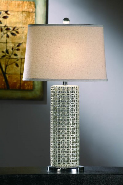Crestview Collection Maura Shaded Table Lamp CRST-CVAP1253