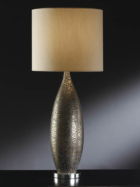 Crestview Collection Gold Bronze Leopard Print Table Lamp CRST-CVAP1282
