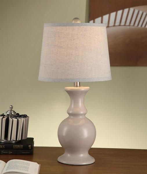 Crestview Collection Taupe Table Lamps CRST-CVAP1479-LMP-VAR