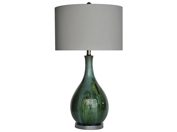 Crestview Collection Blue Taupe Seascape Table Lamp CRST-CVAP1616