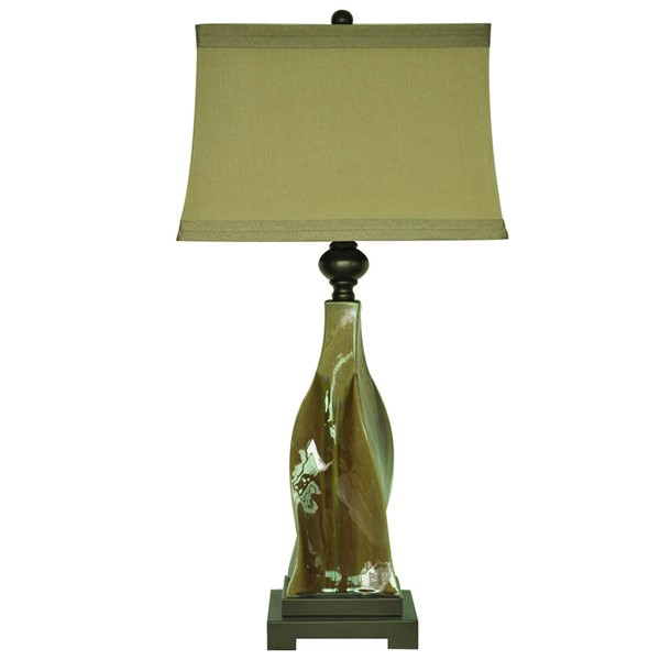 Crestview Collection Canyon Creek Fabric Table Lamp CRST-CVAP1672