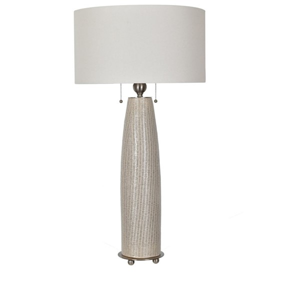 Crestview Collection Barclay Natural Cream Table Lamp CRST-CVAP2050