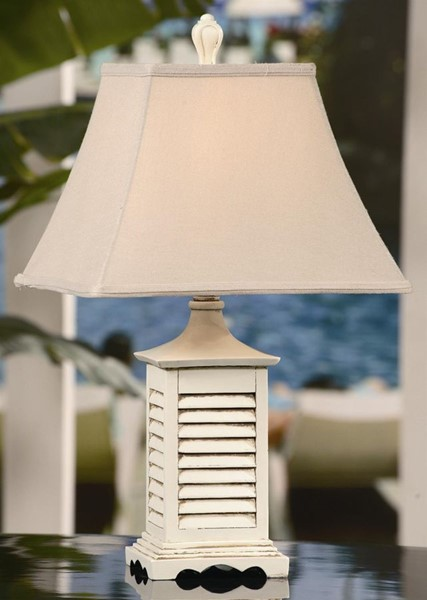 Crestview Collection Seaside Bell Shade Accent Lamp CRST-CVAQP934