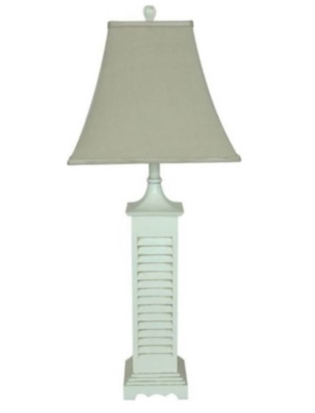 Crestview Collection Grey White Table Lamp CRST-CVARP287
