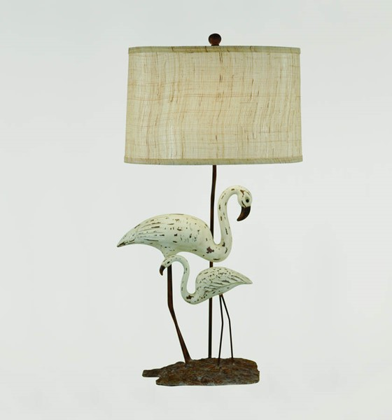 Crestview Collection Shoreline Grey White Accent Lamp CRST-CVASP042
