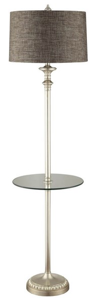 Crestview Collection Chase Silver Floor Lamp CRST-CVATP106B