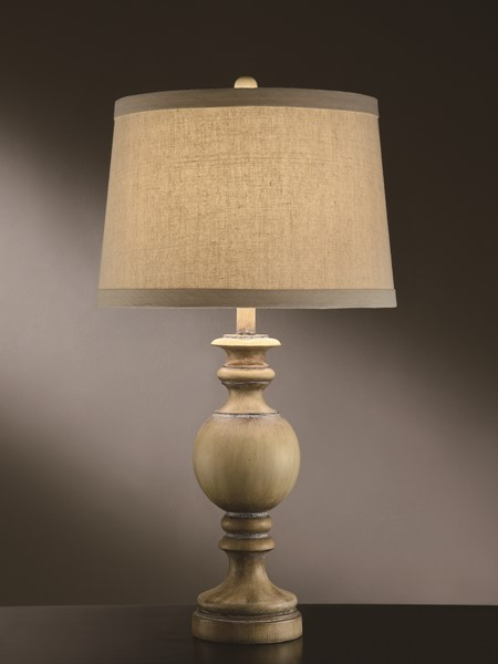 Crestview Collection Natural Taupe Table Lamp CRST-CVATP893