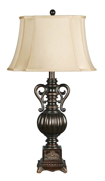 Crestview Collection Moira Black Bronze Table Lamp CRST-CVAUP342