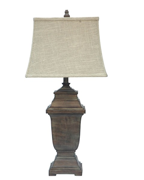 Crestview Collection Whitmore Distressed Table Lamp CRST-CVAUP483