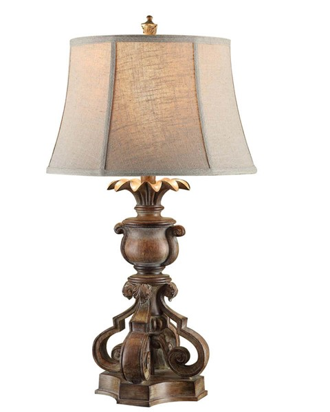 Crestview Collection Capital Natural Table Lamp CRST-CVAUP558