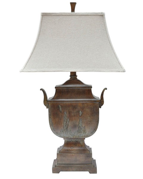 Crestview Collection Natural Table Lamp CRST-CVAUP603