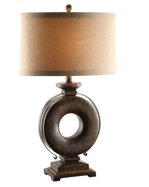 Crestview Collection Kelsey Gold Table Lamp CRST-CVAUP604