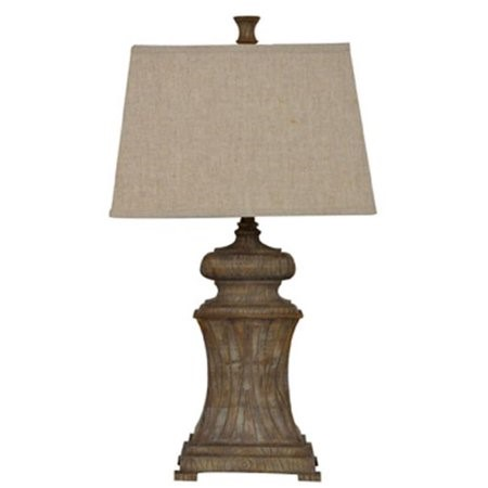 Crestview Collection Lombardi Natural Aged Table Lamp CRST-CVAUP693