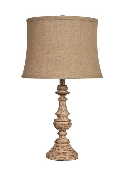 Crestview Collection Cunningham Fabric Table Lamp CRST-CVAUP813