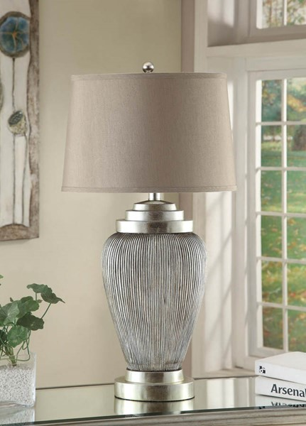Crestview Collection Casablanca Champagne Table Lamp CRST-CVAUP822