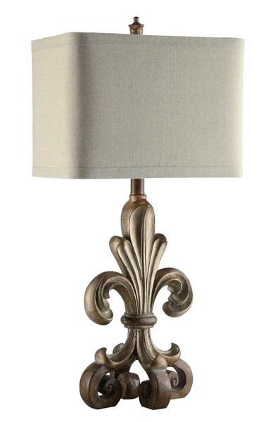 Crestview Collection Orleans Champagne Table Lamp CRST-CVAUP845