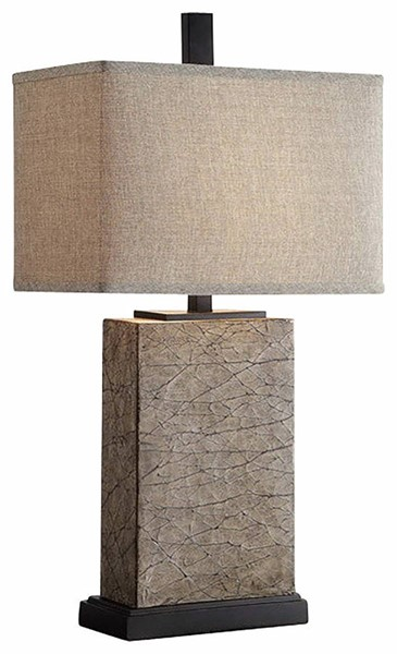 Crestview Collection Mason Gold Oatmeal Table Lamp CRST-CVAUP858