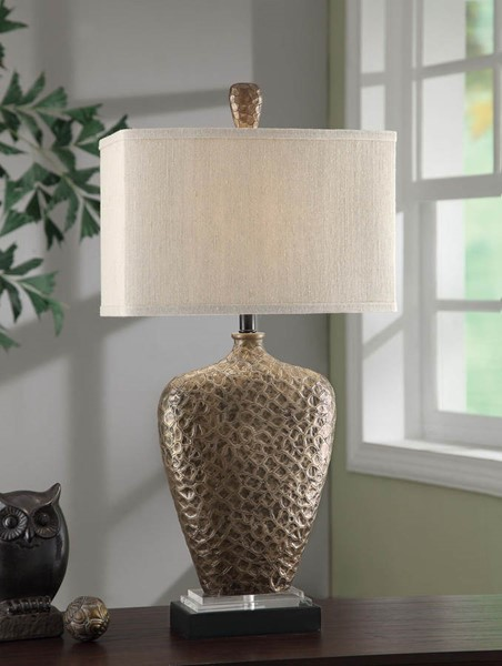 Crestview Collection Coventry Natural Antique Table Lamp CRST-CVAUP878