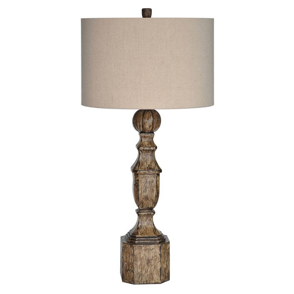Crestview Collection Arbors Antique Collum Table Lamp CRST-CVAUP909