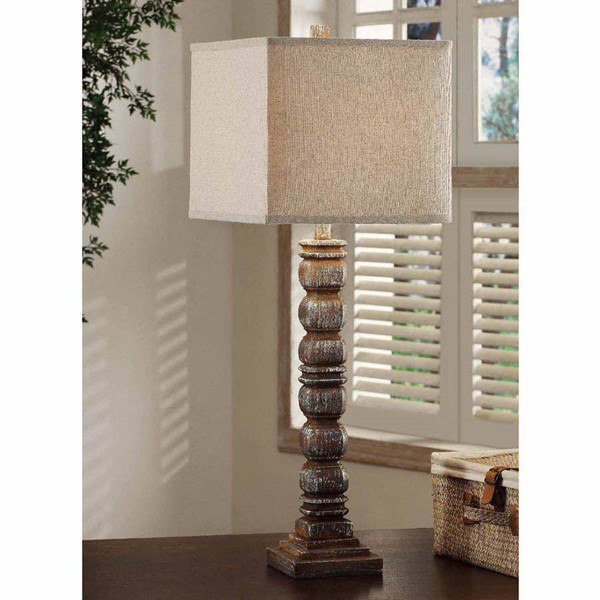 Crestview Collection Fabric Hurst Table Lamp CRST-CVAVP166
